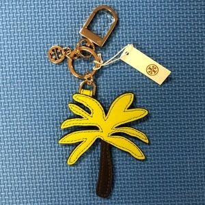 Tory Burch Accessories - 🆕 Tory Burch Palm Tree Key Fob & Bag Charm